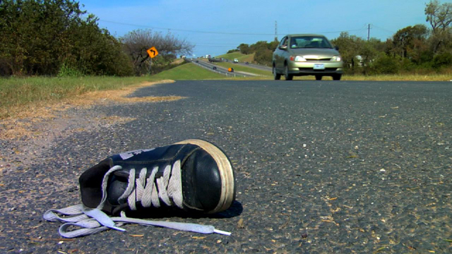 shoe-in-the-road